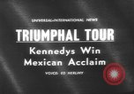 Image of John F Kennedy Mexico, 1962, second 5 stock footage video 65675073149