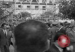 Image of unveiling of statue Greece, 1963, second 4 stock footage video 65675073169