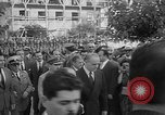 Image of unveiling of statue Greece, 1963, second 5 stock footage video 65675073169