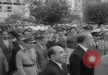Image of unveiling of statue Greece, 1963, second 6 stock footage video 65675073169