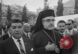 Image of unveiling of statue Greece, 1963, second 8 stock footage video 65675073169