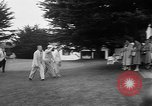Image of Dwight D Eisenhower Pebble Beach California USA, 1955, second 11 stock footage video 65675073186