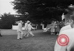 Image of Dwight D Eisenhower Pebble Beach California USA, 1955, second 12 stock footage video 65675073186