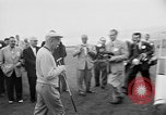 Image of President Dwight D Eisenhower plays golf Pebble Beach California USA, 1955, second 2 stock footage video 65675073187