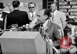 Image of Adlai E Stevenson Newton Iowa USA, 1956, second 8 stock footage video 65675073190