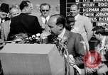Image of Adlai E Stevenson Newton Iowa USA, 1956, second 9 stock footage video 65675073190