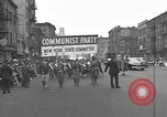 Image of Communists parade New York City USA, 1946, second 2 stock footage video 65675073207