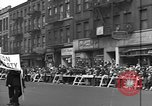 Image of Communists parade New York City USA, 1946, second 7 stock footage video 65675073207
