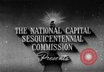 Image of early planning of streets and monuments Washington DC USA, 1950, second 2 stock footage video 65675073215