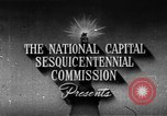 Image of early planning of streets and monuments Washington DC USA, 1950, second 3 stock footage video 65675073215