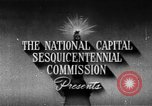 Image of early planning of streets and monuments Washington DC USA, 1950, second 4 stock footage video 65675073215