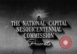 Image of early planning of streets and monuments Washington DC USA, 1950, second 6 stock footage video 65675073215