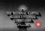 Image of early planning of streets and monuments Washington DC USA, 1950, second 7 stock footage video 65675073215