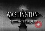 Image of early planning of streets and monuments Washington DC USA, 1950, second 10 stock footage video 65675073215