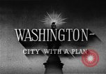 Image of early planning of streets and monuments Washington DC USA, 1950, second 11 stock footage video 65675073215