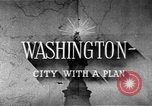 Image of early planning of streets and monuments Washington DC USA, 1950, second 12 stock footage video 65675073215