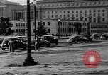 Image of traffic jams and rush hour Washington DC USA, 1950, second 5 stock footage video 65675073231