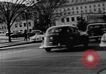 Image of traffic jams and rush hour Washington DC USA, 1950, second 10 stock footage video 65675073231
