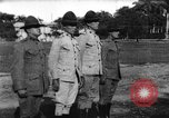 Image of United States Marines receive Haitian military medals Port-au-Prince Haiti West Indies, 1920, second 9 stock footage video 65675073271