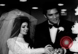 Image of Elvis Presley marries Priscilla Ann Beaulieu Las Vegas Nevada USA, 1967, second 10 stock footage video 65675073282