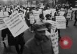 Image of Anti Vietnam War march New York City USA, 1967, second 9 stock footage video 65675073293