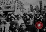 Image of peace demonstration San Francisco California USA, 1967, second 6 stock footage video 65675073294