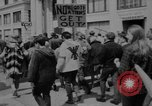 Image of peace demonstration San Francisco California USA, 1967, second 10 stock footage video 65675073294