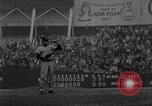 Image of Baseball player Billy Rohr pitching against Yankees New York City USA, 1967, second 10 stock footage video 65675073299