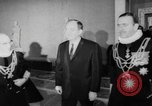 Image of Hubert H Humphrey Vatican City Rome Italy, 1967, second 6 stock footage video 65675073303