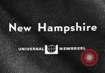 Image of fishing New Hampshire United States USA, 1967, second 5 stock footage video 65675073309
