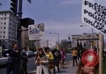 Image of Earth Day Washington DC USA, 1970, second 8 stock footage video 65675073322