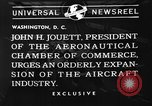 Image of John J Jouett Washington DC USA, 1940, second 5 stock footage video 65675073337