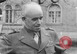 Image of American publishers Reims France, 1945, second 1 stock footage video 65675073360