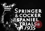Image of Cocker Spaniels Verbank New York USA, 1935, second 11 stock footage video 65675073362