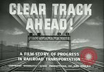 Image of railroad development United States USA, 1948, second 12 stock footage video 65675073407
