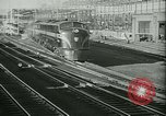 Image of passenger railroad train operations and personnel United States USA, 1948, second 3 stock footage video 65675073411