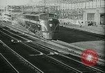 Image of passenger railroad train operations and personnel United States USA, 1948, second 5 stock footage video 65675073411
