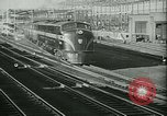 Image of 1940s passenger railroad train operations and personnel United States USA, 1948, second 6 stock footage video 65675073411