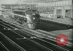 Image of passenger railroad train operations and personnel United States USA, 1948, second 7 stock footage video 65675073411