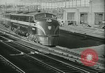 Image of 1940s passenger railroad train operations and personnel United States USA, 1948, second 11 stock footage video 65675073411