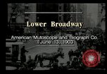Image of Lower Broadway New York City USA, 1903, second 1 stock footage video 65675073419