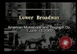 Image of Lower Broadway New York City USA, 1903, second 4 stock footage video 65675073419