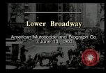 Image of Lower Broadway New York City USA, 1903, second 6 stock footage video 65675073419