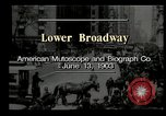 Image of Lower Broadway New York City USA, 1903, second 7 stock footage video 65675073419