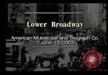 Image of Lower Broadway New York City USA, 1903, second 11 stock footage video 65675073419