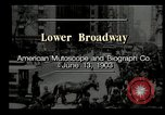 Image of Lower Broadway New York City USA, 1903, second 12 stock footage video 65675073419