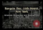 Image of Shoppers New York City USA, 1905, second 1 stock footage video 65675073420