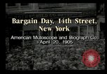 Image of Shoppers New York City USA, 1905, second 2 stock footage video 65675073420