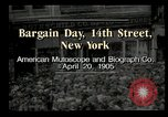 Image of Shoppers New York City USA, 1905, second 6 stock footage video 65675073420