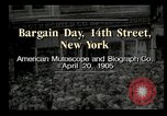 Image of Shoppers New York City USA, 1905, second 11 stock footage video 65675073420